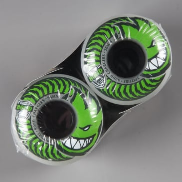 Spitfire '80HD Chargers' Conical 56mm Wheels (Clear)