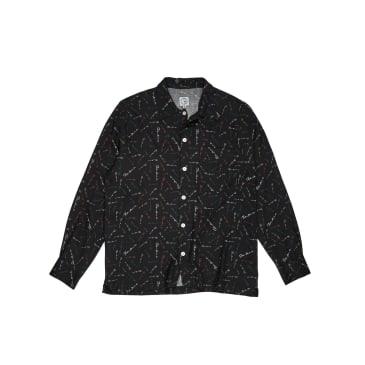 Polar Skate Co Art Shirt Mini Signature - Black