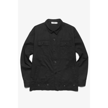 Blacksmith - Safari CPO Overshirt - Black