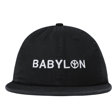 """BABYLON LA - """"ENZYME SHOP SHOP HAT"""" (BLACK)"""