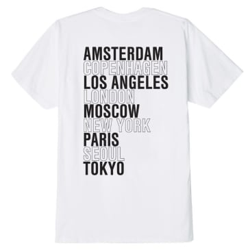 Obey International Cities - White