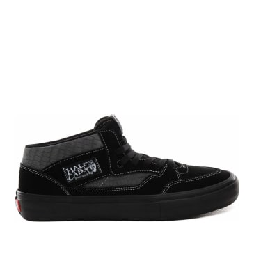 Vans Croc Half Cab Pro Skate Shoes - Black / Pewter