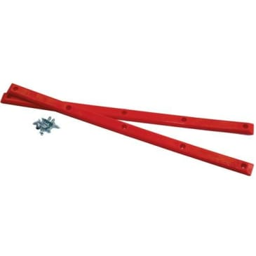 Pig Wheels Rails - Red