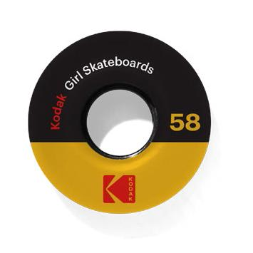 Girl Kodak Cine Cruiser 85d Wheels - 58mm