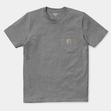 Carhartt WIP Pocket T-Shirt - Grey Heather