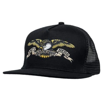 Antihero Classic Eagle Trucker Black