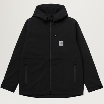 Carhartt WIP Softshell Jacket (Black)