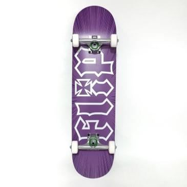 "Flip Skateboards - 7.75"" HKD Burst Purple Complete Skateboard"