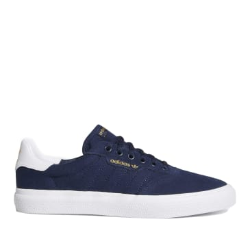 adidas Skateboarding 3MC Vulc Shoes - Collegiate Navy / Cloud White / Collegiate Navy
