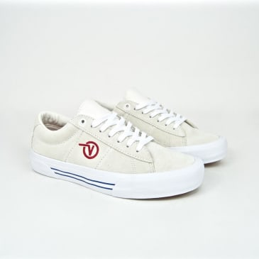 Vans - Saddle Sid Pro Shoes - Marshmallow / Racing Red
