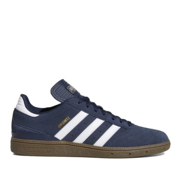 adidas Skateboarding Busenitz Shoes - Collegiate Navy / Cloud White / Gum 5