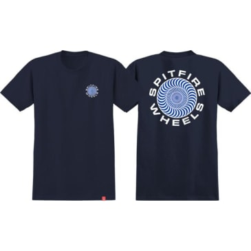 Spitfire - Classic 87 Swirl SS Navy/White Large