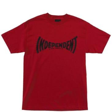 Independent Trucks Breakneck T-Shirt - Cardinal