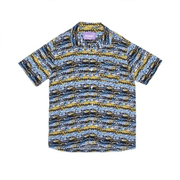 Alltimers Dads Matrix Button Up - Blue