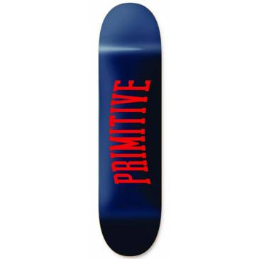 "Primitive Collegiate Skateboard Deck 7.5"""