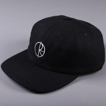 Polar 'Wool' 6 Panel Cap (Black)