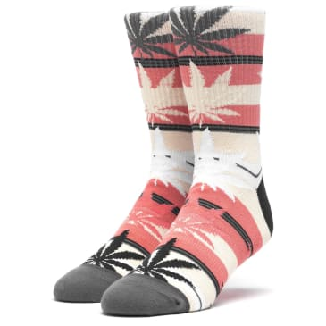 Huf Stripe Plantlife Socks (Desert Flower)