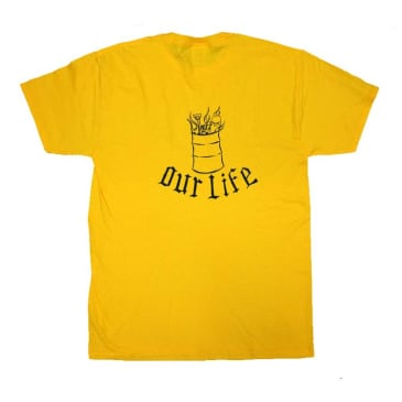Our Life Lindig Barrel T-Shirt - Yellow