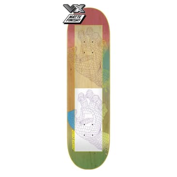 "Santa Cruz Framework Hand VX Skateboard Deck 8.5"""