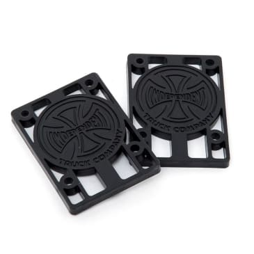 "Independent 1/4"" Riser Pads Black"