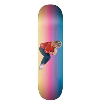 Doom Sayers Becky Float Rainbow Skateboard Deck - 8.75""