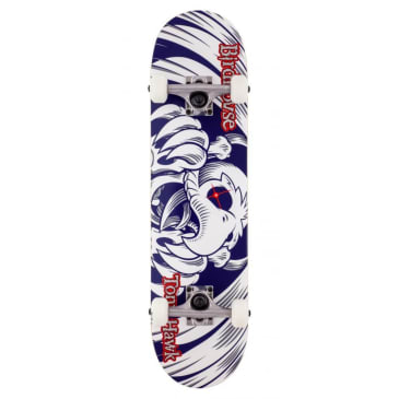 "Birdhouse - 7.38"" Falcon 6 Mini Complete Skateboard - Blue"