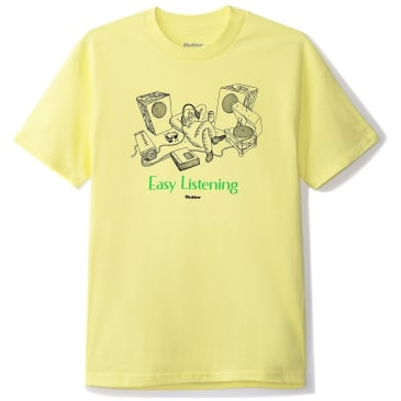 Butter Goods Easy Listening T-Shirt - Banana