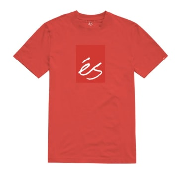 eS - Main Block SS Tee - Red