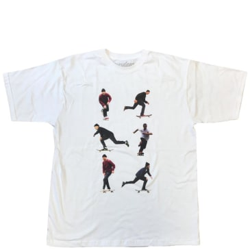 Tuesdays Skate Shop 'The Gino Push' T-Shirt - White