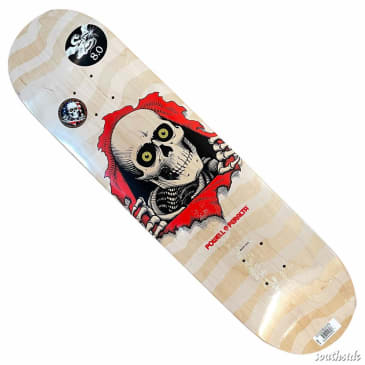 Powell Peralta Deck Ripper Natural White 8x31.45