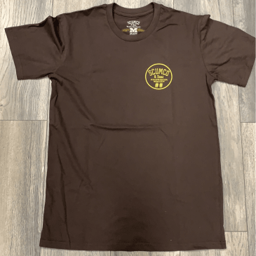 Scumco & Sons Tee Brown