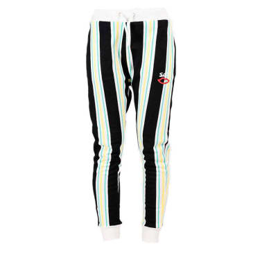 "Sex ""Bad"" Striped Pant (lime stripe)"