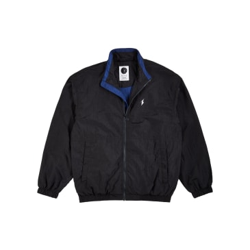Polar Skate Co Track Jacket - Black / Blue