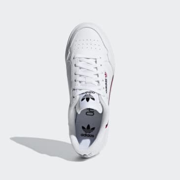 Adidas - Continental 80 - Cloud White / Scarlet / Collegiate Navy