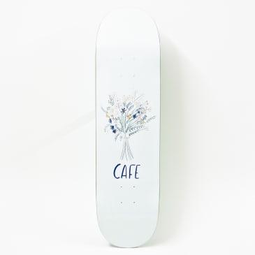 Skateboard Cafe Bouquet Deck White (Various Sizes)