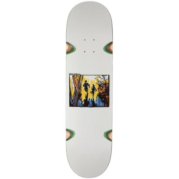 Polar Skate Co. - Hjalte Halberg - Run Away - Skateboard Deck - 8.5""