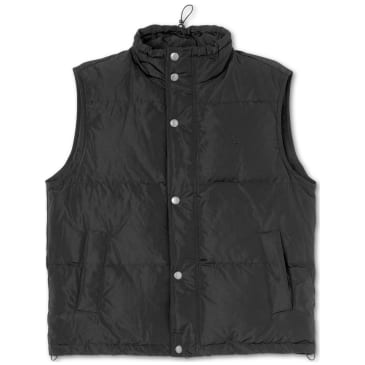 Polar Skate Co Puffer Vest - Black