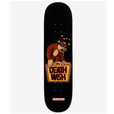 Deathwish Delfino Knocked Out Skateboard Deck - 8.125