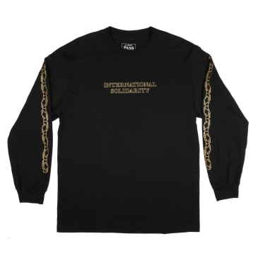 Pass~Port Intersolid Longsleeve Tee - Black