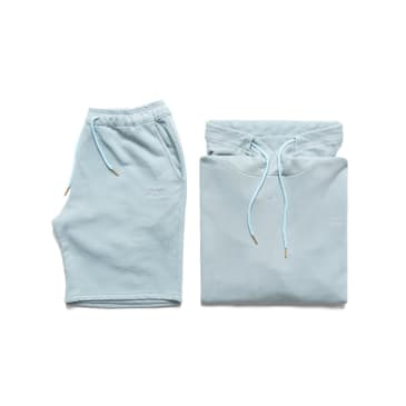 Chrystie NYC Garment Dye Classic Logo Set - Washed Blue