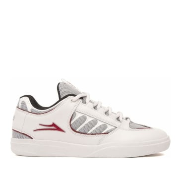 Lakai Carroll Leather Skate Shoes - White