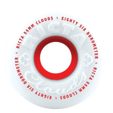 Ricta Clouds Wheels Red 86A (55MM)