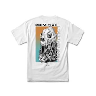 PRIMITIVE Jungle Tee White
