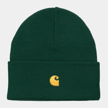 Carhartt WIP - Chase Beanie - Treehouse / Gold