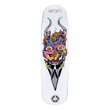 Welcome Skateboards Daniel Vargas Maligno on Effigy Skateboard Deck - 8.8""