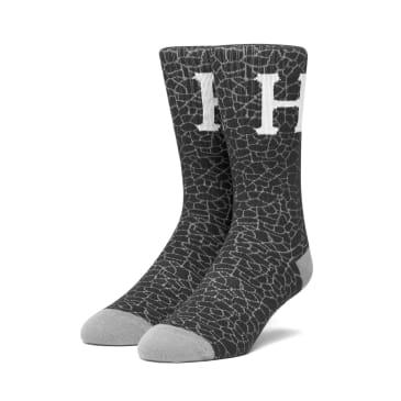 Huf Tonal Quake Socks black one size
