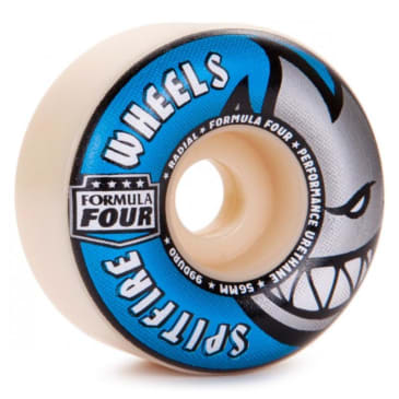 Spitfire Wheels F4 Radials 99D 56MM