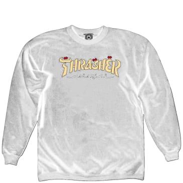 Thrasher Calligraphy Sweatshirt - Black