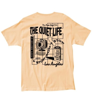 The Quiet Life Photo Grid T-Shirt - Squash