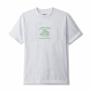 June - Hole Food Specialist Mens Tee - Grey, Green